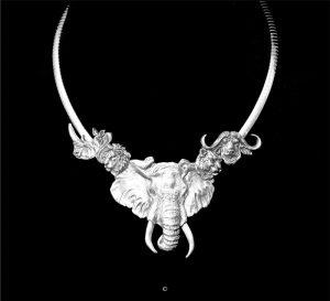 Big Five- Sterling Silver Big Five- Sterling Silver Silver Pendants Sterling Silver Jewelry