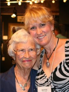 Jocelyn and Mom Jocelyn and Mom Jocelyn Russell Sculptor Jocelyn Russell Fine Art Artist