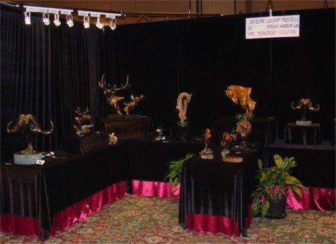 Jocelyns Show Booth Jocelyns Show Booth Sculpture Show Schedule Art Exhibit Schedule