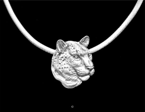 Leopard-Sterling Silver Leopard-Sterling Silver Silver Pendants Sterling Silver Jewelry