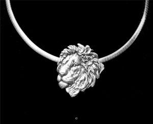 Lion-Sterling Silver Lion-Sterling Silver Silver Pendants Sterling Silver Jewelry