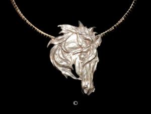 Mustang- Sterling Silver Mustang- Sterling Silver Silver Pendants Sterling Silver Jewelry