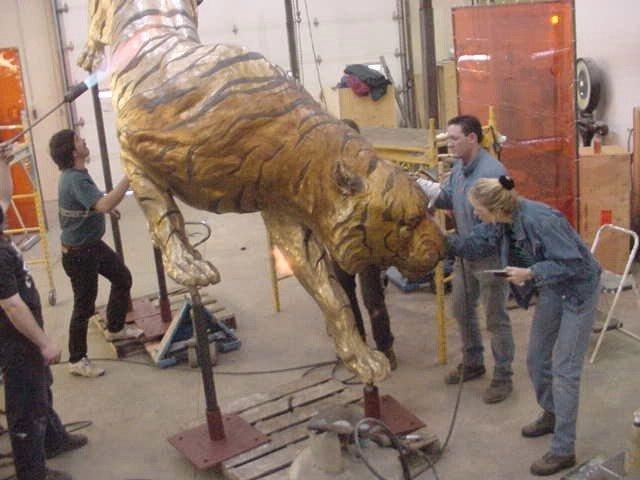 Albert Lea Public Schools on the Bronze Tiger Project Rory Mattson - Albert Lea Tiger Reviews - Jocelyn Russell Testimonials