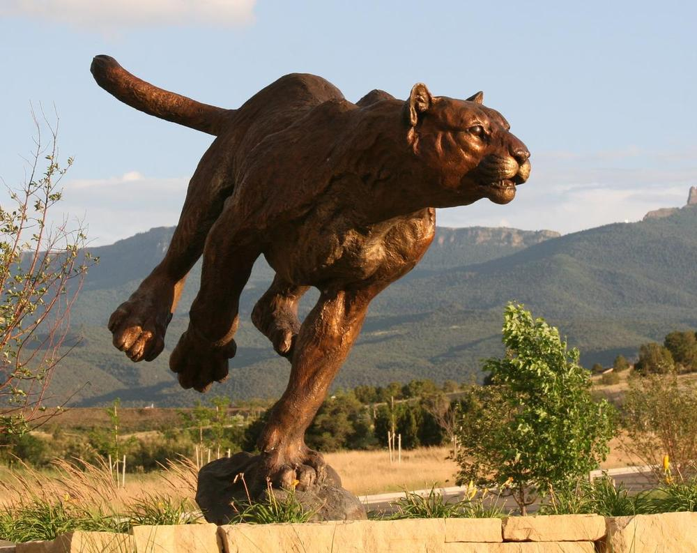 Turning Point – Cougar Monument
