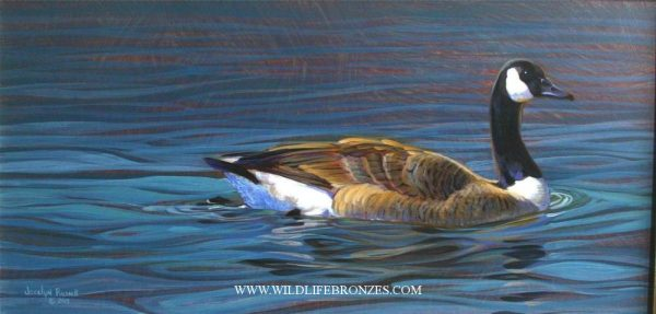 Across the Blue - Original - Running Wild Studio Original Paintings Limited Edition Reproductions