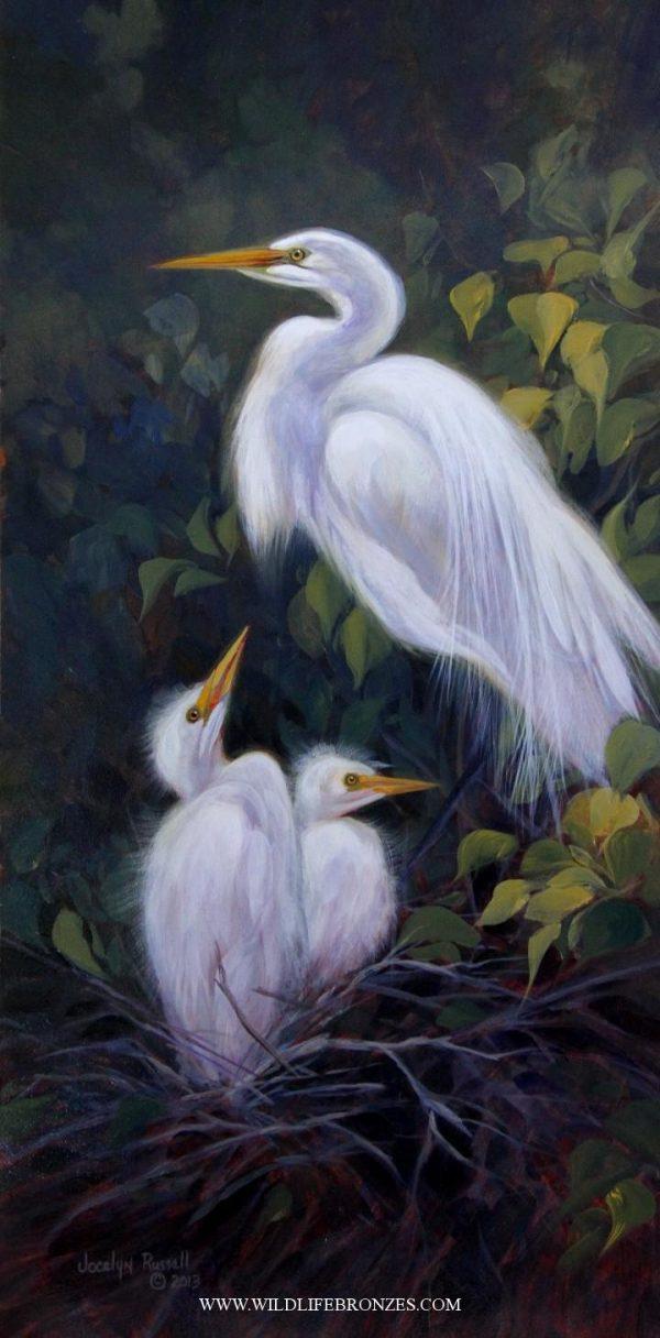April Bounty - Original - Running Wild Studio Original Paintings Limited Edition Reproductions