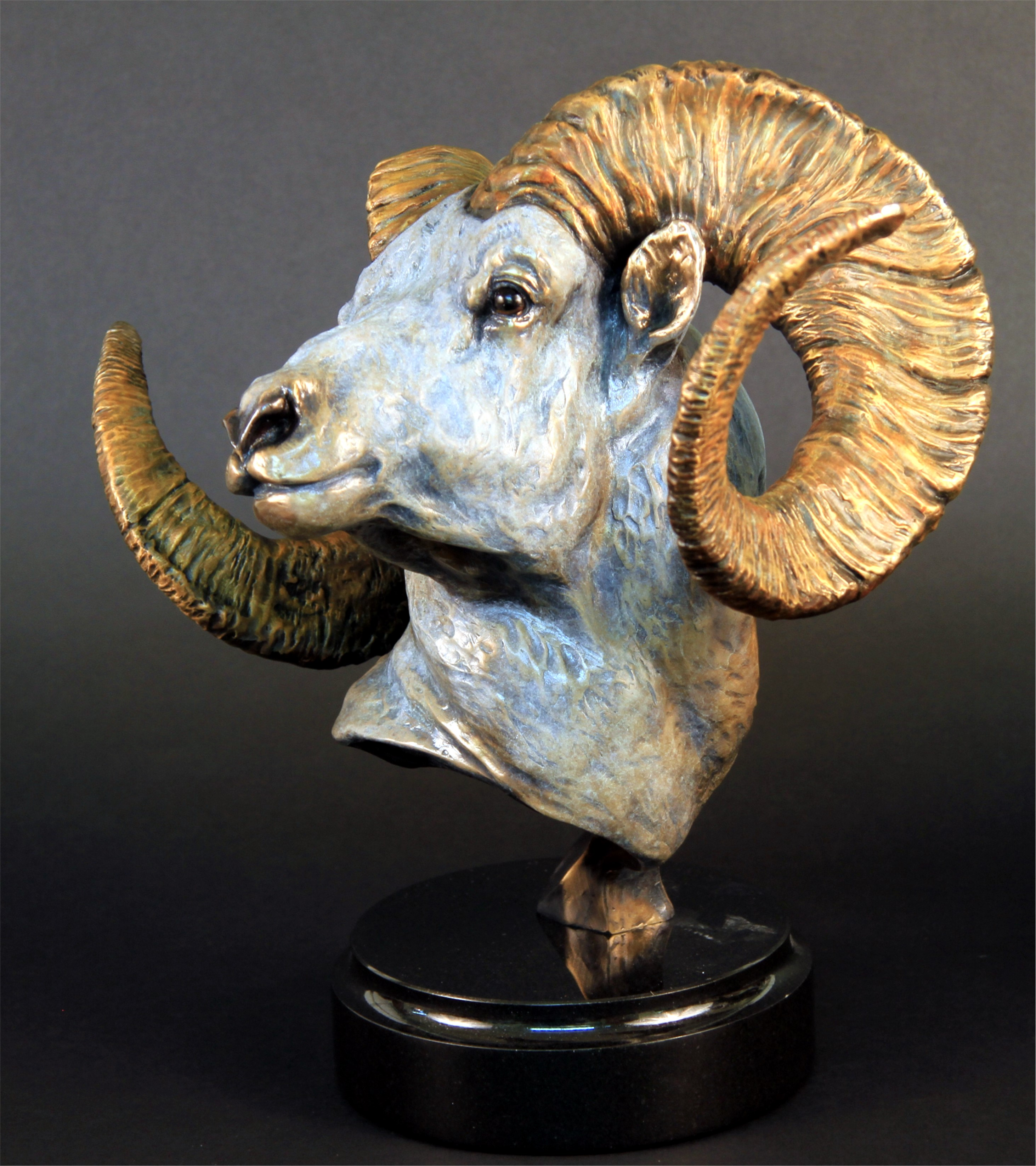 Cliff Hanger Dall Sheep bronze