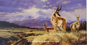 East of the Sangres Pronghorn - Prints Only - Running Wild Studio Original Paintings Limited Edition Reproductions