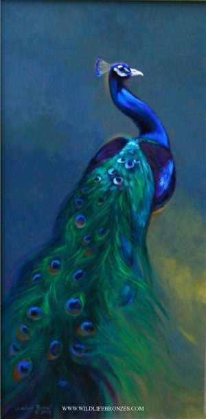 Elegant Emerald - Original - Running Wild Studio Original Paintings Limited Edition Reproductions