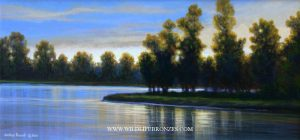 Evening Soft - Original - Running Wild Studio Original Paintings Limited Edition Reproductions