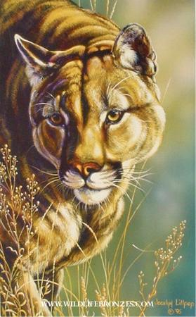 Inside Pass Cougar - Prints Only - Running Wild Studio Original Paintings Limited Edition Reproductions