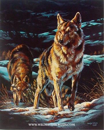 """Last Chance"" Wolves – Prints Only"