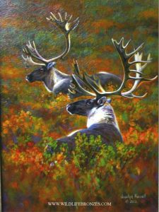 September Fire - Original - Running Wild Studio Original Paintings Limited Edition Reproductions