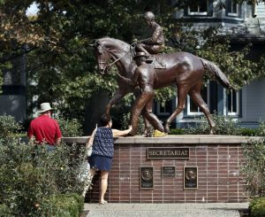 This Secretariat sculpture is one of two at the Kentucky Horse Park in Lexington and one of five known Secretariat monuments. The others are at Belmont Park in Elmont, N.Y., at the National Museum of Racing and Hall of Fame in Saratoga Springs, N.Y., and in Grand Falls, New Brunswick, Canada, home of Secretariat's jockey, Ron Turcotte. The new bronze coming to Lexington will be the largest. Charles Bertram cbertram@herald-leader.com