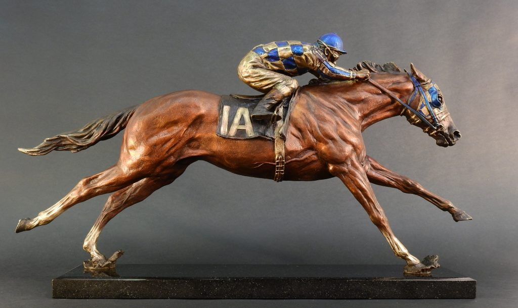 """Racing into History"" - Secretariat and Ron Turcotte"